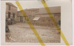 51  MARNE MORONVILLIERS Canton MOURMELON VESLE  CARTE PHOTO ALLEMANDE MILITARIA 1914/1918 WW1 WK1 - Autres Communes