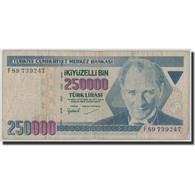 Turquie, 250,000 Lira, L.1970 (1998), 1970-01-14, KM:211, B - Turquie