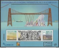 2017-ED. 5172 H.B. Exfilna 2017. Portugalete. Puente Metálico-NUEVO - 2011-... Unused Stamps