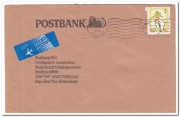 Saoedi-Arabië, Letter To The Dutch Postbank In Amsterdam - Saoedi-Arabië
