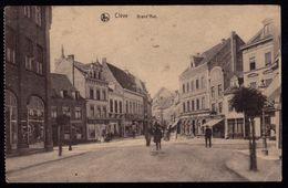 Kleven Clève, Grand'Rue - Service Militaire 1922 - Kleve