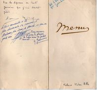 VP11.152 - Ancien Menu De 1956 - Famille LE DUIGOU X ALLO - Menus