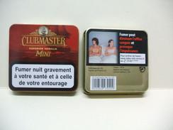 BOITE Métal Vide CLUBMASTER MINI Superior Vanilla (20 Cigares) - Cigar Cases