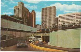 X440 Detroit - Tunnel To Canada - Auto Cars Voitures Bus Autobus / Non Viaggiata - Detroit