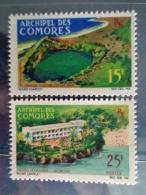 COMORES 1966 CERES N° 39 & 40 ** - VUES DIVERSES - Neufs