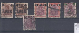 Reich Michel Kat.Nr. Gest 154/157 - Allemagne
