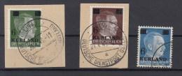 Reich Michel Kat.Nr Gest Kurland 1/3 - Besetzungen 1938-45