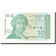 Croatie, 100 Dinara, 1991-10-08, KM:20a, NEUF - Croatia