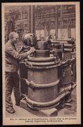 AK Hanomag  , Hannover - Linden -- Werdegang Eines Lokomotivzylinders - Fraiser Le Cilindre - Processing Cylinder - Industrie