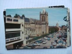 Trinidad Port Of Spain Hart Street With Old Cars - Trinidad