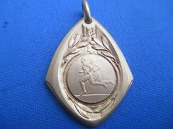 Médaille /Sports/Athlétisme / Course à Pieds/Bronze Nickelé / Vers 1920 -1930   SPO225 - Athlétisme