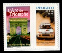 ARC DE TRIOMPHE ADHESIF  N° 3599B YVERT & N°73 MAURY COTE 45 EUROS SUR MAURY 2017 RARE - Frankreich