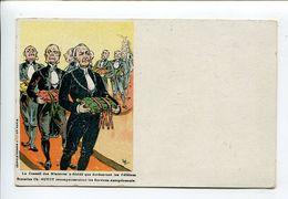 Bretelle  OGE Illustrateur Publicité - Werbepostkarten
