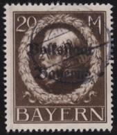 Bayern      .      Michel    .    133    II A        .    O     .      Gebraucht   .     /    .    Cancelled - Bayern