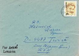 Polen / Poland - Umschlag Echt Gelaufen / Cover Used (C1019) - 1944-.... Republik
