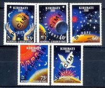 S243- Kiribati 2000 Specimen Full Set Of 5v Micronesia Region Of Peace Hands Earth Birds Hope. - Kiribati (1979-...)