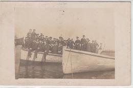 CPA Allemande-Barque Militaires Marins-TBE - Oorlog 1914-18