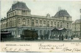 BELGIO  BRUXELLES  Gare Du Nord  Tram Tramway  Ed. Cohn-Donnay - Ferrovie, Stazioni