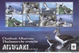 Aitutaki - Postfris / MNH - Sheet WWF Albatros 2016 - Aitutaki
