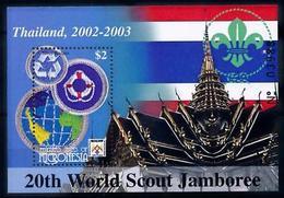 [66656] Micronesia 2002 Scouting Sheet 20th World Jamboree Thailand MNH - Scouting