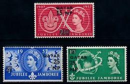[66666] Qatar 1957 Scouting Jamboree Pfadfinder Overprint MNH - Scouting