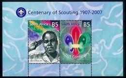 [66631] South Africa 2007 Scouting Jamboree Pfadfinder Souvenir Sheet MNH - Scouting