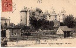 VERTEUIL - CHÂTEAU - FAÇADE SUR LA CHARENTE - France