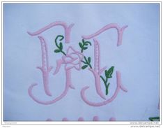 Drap Ancien  Monogramme-- F F184x240 -----avec 2 Petites Restaurations - - Bed Sheets