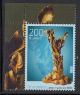 Iceland 2010 MNH Scott #1191 Woodcarving Circa 2000 - 1944-... Republic