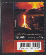 Iceland 2010 MNH Scott #1206 Volcanic Eruption Eyjafjallajokull - 1944-... Republic