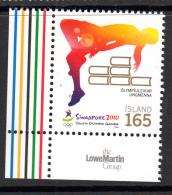 Iceland 2010 MNH Scott #1210 Youth Olympics Singapore - Ete 2010 : Singapour (JO De La Jeunesse)