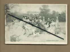 CPA  - Jeux - Colin Maillard - Au Verso : Offert Par La Maison C.Blériot - Lille - Chicorée Des Roi - Cartes Postales