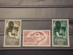 SAHARA SPAGNOLO - 1964 ANIMALI  3 Valori - NUOVI(++) - Sahara Spagnolo