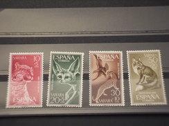 SAHARA SPAGNOLO - 1960 ANIMALI  4 Valori - NUOVI(++) - Sahara Spagnolo