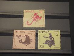 SAHARA SPAGNOLO - 1968 ZODIACO  3 Valori - NUOVI(++) - Sahara Spagnolo