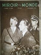 Miroir Du Monde N°244, 3 Novembre 1934 - Livres, BD, Revues