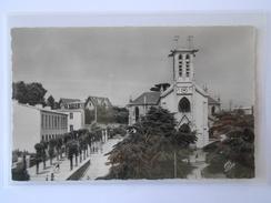 CPSM CAP 991 BREST La Place Et L'Eglise Saint-Marc - Brest