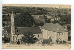 Azerat L'église Et Le Château - Andere Gemeenten