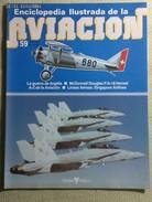 Fascículo Enciclopedia Ilustrada De La Aviación. Número 59. 1982. Editorial Delta. Barcelona. España - Aviación