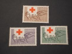FINLANDIA - 1963 CROCE ROSSA 3 Valori - NUOVI(++) - Nuovi