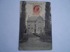 Machelen (Zulte) (Flandre Orientale) Chalet De M.le Notaire Used 1907 Iets Vlekkig // Ed. Armand Van Hee RRR - Belgique
