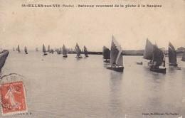 CPA Saint-Gilles-sur-Vie - Bateaux Revenant De La Pêche à La Sardine - 1919 (31062) - Saint Gilles Croix De Vie