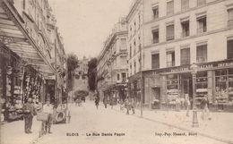 Blois - La Rue Denis Papin - Blois