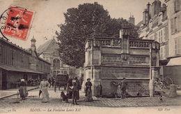 Blois - La Fontaine Louis XII - Blois