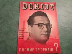 """DORIOT  L'Homme De Demain ? Collection """"un Homme, Une Oeuvre"""" N°1 (32 Pages) - Politica"""