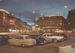 GERMANY - München 1962 - Karlsplatz Mit Königshof - Automotive - Opel Rekord - VW Ghia Karmann - Muenchen