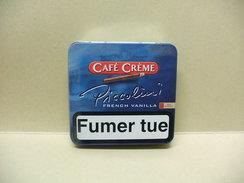 BOITE Métal Vide CAFE CREME PICCOLINI French Vanilla (20 Cigares) - Sigarenkokers