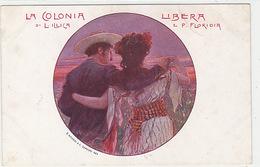 La Colonia Libera Di L.Illica E P.Floridia - Firmata    (171019) - Autres Illustrateurs