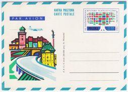 Poland Polska 1964 VIII Philatelic Exhibition, Plane - Postwaardestukken