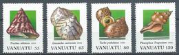 Vanuatu YT N°931/934 Coquillages Neuf ** - Vanuatu (1980-...)